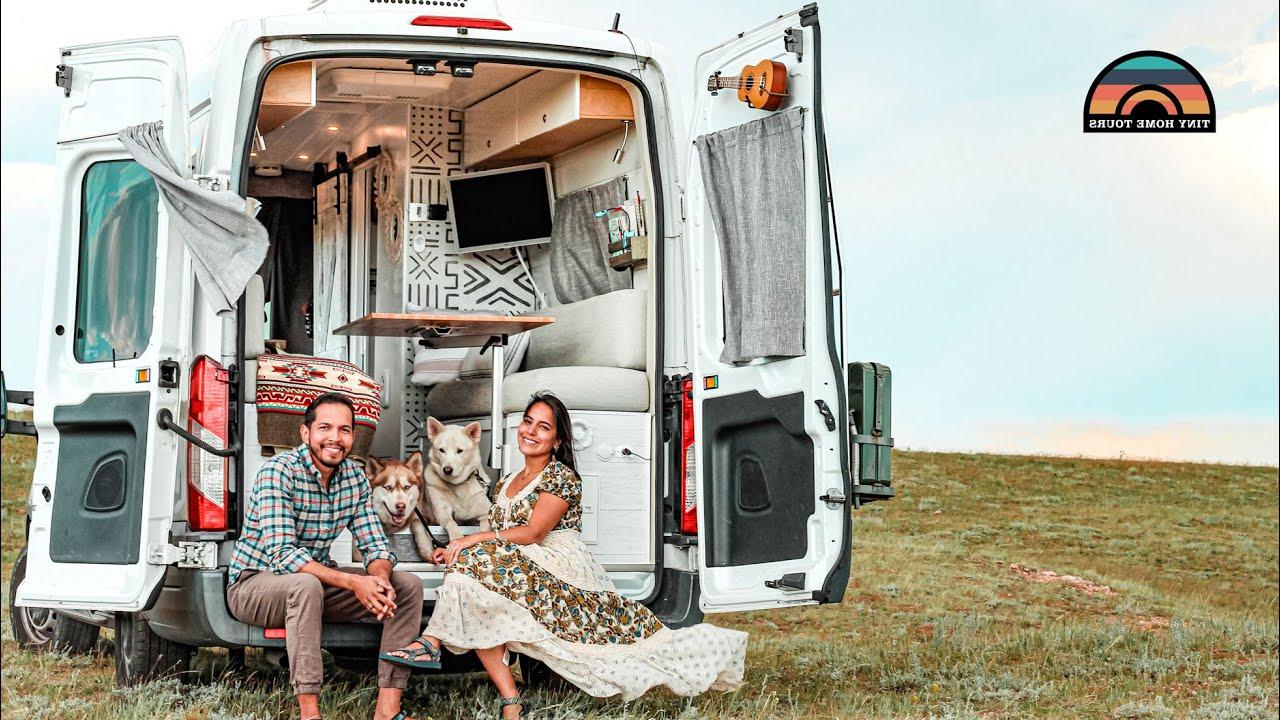 DIY Camper Van Build W/ Shower, Toilet & Tons Of Clever Build Hacks