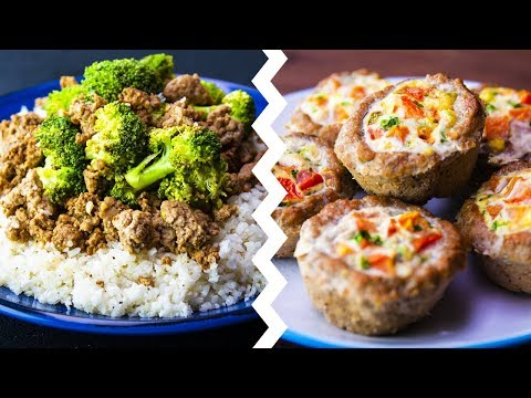 6 Healthy Low Carb Recipes For Weight Loss Healthy Food Videos