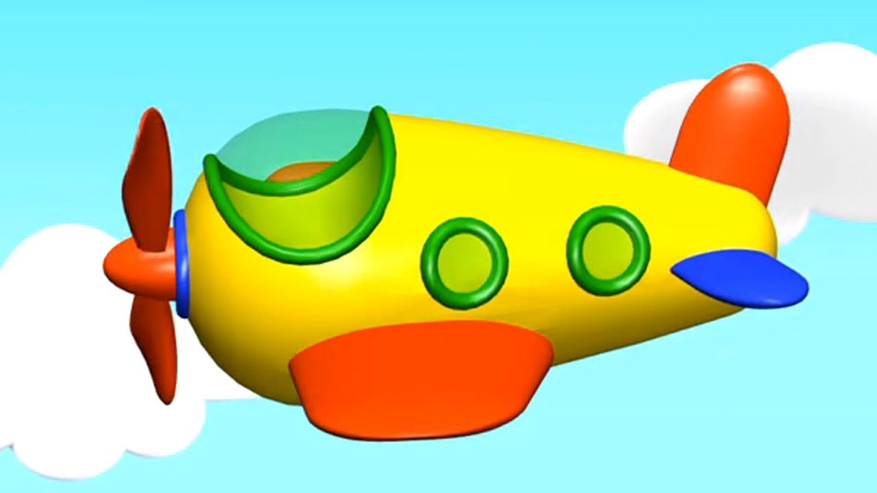 картинки самолет детские