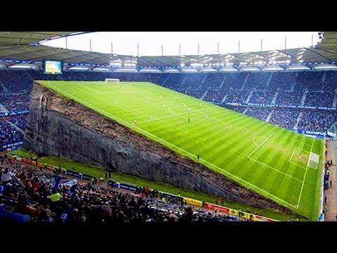 أغرب 10 ملاعب لكرة القدم فى العالم , لن تصدق أنهم موجودين حقاً .. !!
