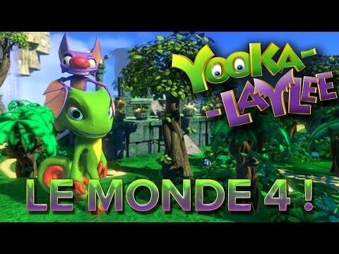 Yooka-Laylee #11 : LE MONDE 4 !