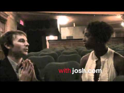 Montego Glover (Broadway's Memphis) on withjosh.com