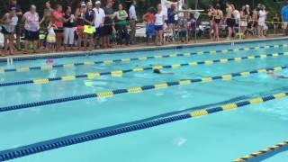 Smith's First Swim