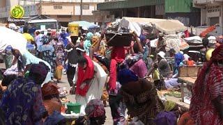 Marché Ocass de Touba à quelques jours de la fête de la Korité: Ambiance
