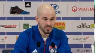 OL - Christophe Jallet «L'ARBITRE(du derby) MANQUE DE DIPLOMATIE»