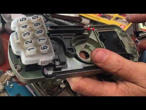 What's Inside: Schlage Push Button Lock FE595