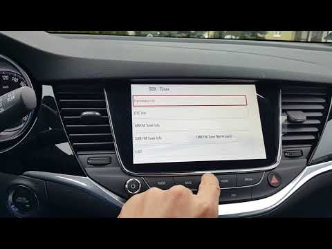 Opel Astra K - Navi 900 IntelliLink - secret menu