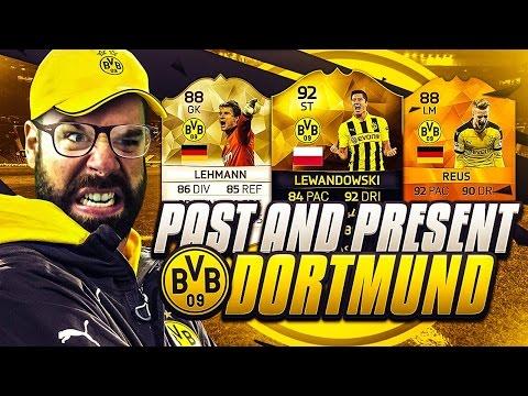 PAST AND PRESENT BORUSSIA DORTMUND SQUAD BUILDER!!!! FIFA 16 Ultimate Team