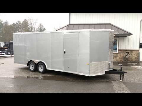 Rock Solid Cargo 8.5x20' 7000# Enclosed Car Hauler Trailer RS820TA