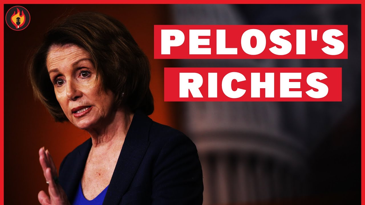 Krystal and Saagar: How Nancy Pelosi Used Her Power to Gain A Fortune