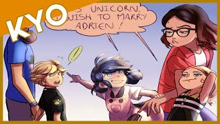 Wish Granting Unicorn (Hilarious Miraculous Ladybug Comic Dub)