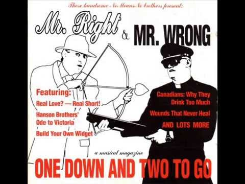 NoMeansNo - Mr. Right & Mr. Wrong: One Down & Two To Go [1994, FULL ALBUM]