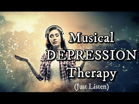 DEPRESSION TREATMENT Meditation Music to INCREASE SEROTONIN & Relieve Symptoms of Major Depression