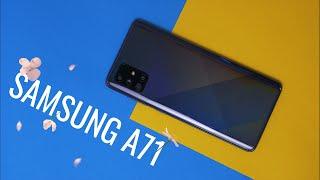 Samsung Galaxy A71 - идеальный бюджетный смартфон с огромным экраном