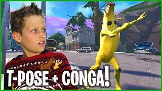 T-POSE AND CONGA CHALLENGE!