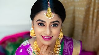 South Indian Bridal Makeup Tutorial | Hair and Makeup