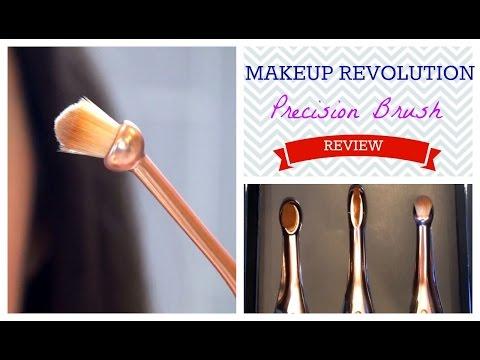 Makeup Revolution Toothbrush Makeup Brush Review