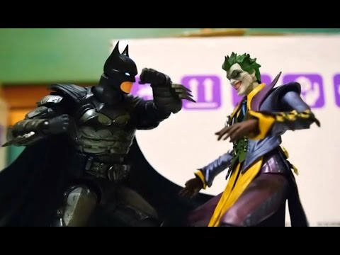Batman VS Joker Stop motion 蝙蝠俠VS小丑