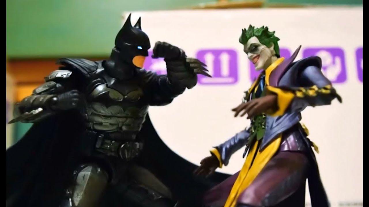 Batman vs joker stop motion vs youtube - Batman contre joker ...