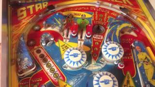 1978 Bally Star Trek Pinball Machine Completely Restored by pinballpickers.com