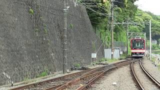 【HiSE塗装】箱根登山鉄道2000形 サンモリッツ号 不定期回送 箱根湯本駅入線