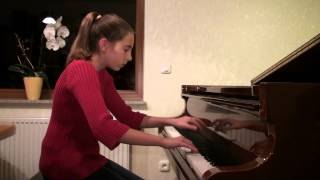 TCHAIKOVSKY -Dance of the Cygnets- from -Swan Lake- Piano Version