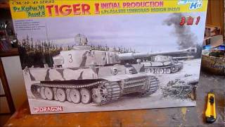Dragon Tiger I Initial Production In 1/35 Scale Part I