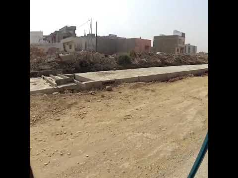 Green line metro karachi storm drain system almost completed along surjani town route 17 may 2018