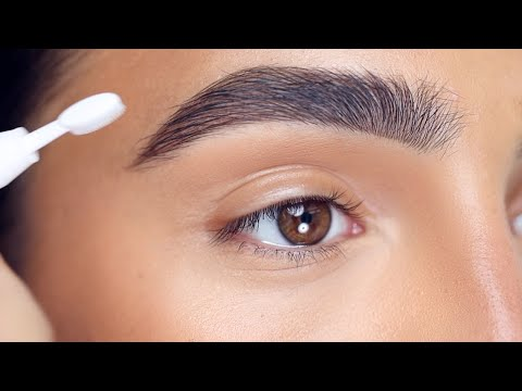 HOW TO: FLUFFY BROWS + EVERYDAY MAKEUP | Hindash