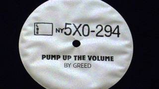 Pump up the volume (remix) - By Greed