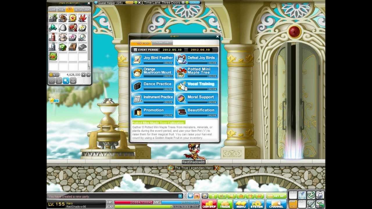 maplestory how to get to mushroom shrine