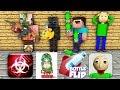 Monster School : SEASON 2 ALL EPISODE - Minecraft Animation