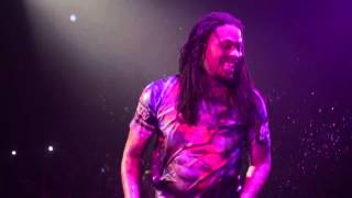 Rapper Waka Flocka Flame starts water fight with fans