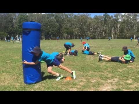 NRL Early Childhood  And Backyard League At Beachmere Primary