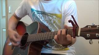 トライセラトップスの13thシングルを弾き語りしました。