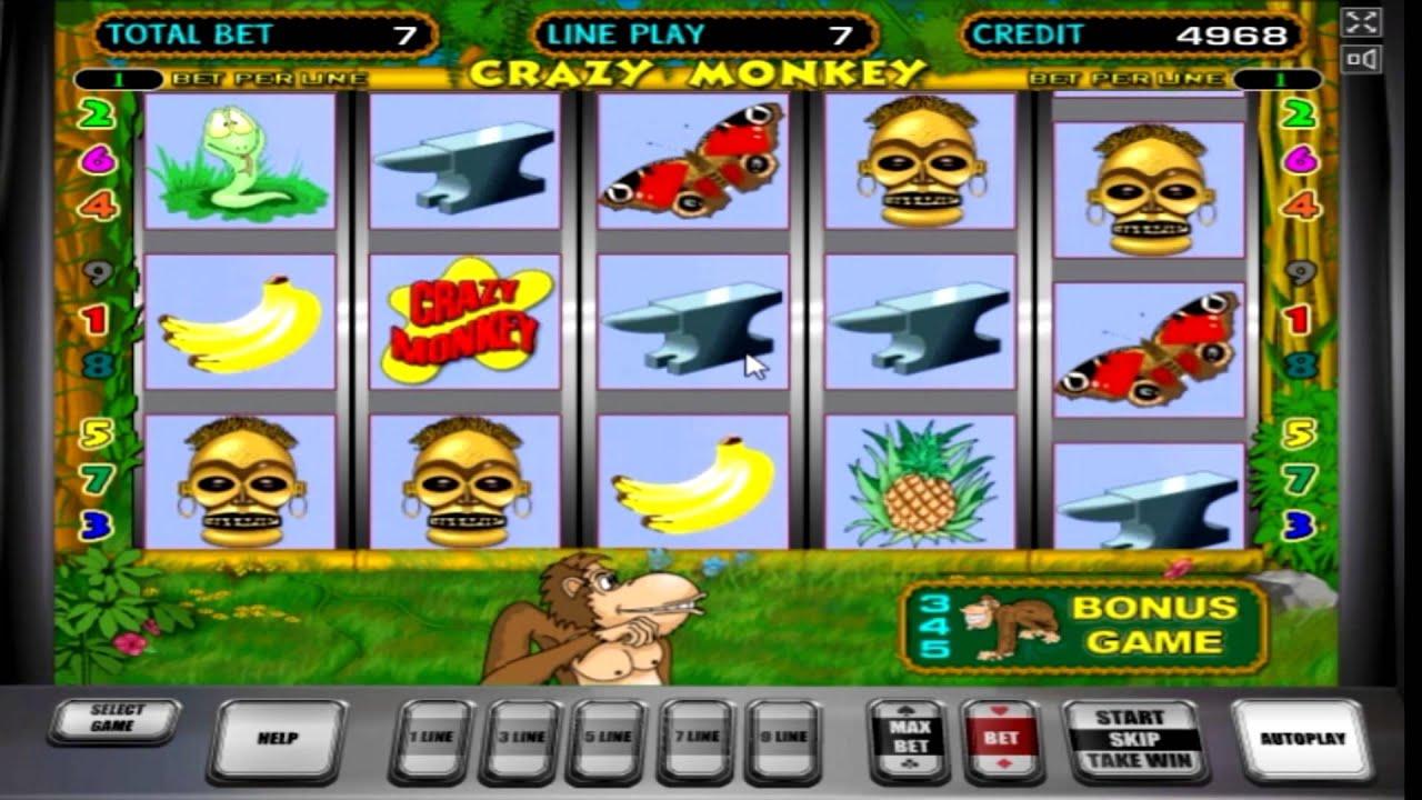 Crazy monkey игровые автоматы в виртуальные казино в монте карло игровые автоматы