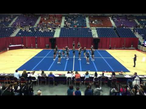 Leavitt Area High School Cheering - KVACS 2012