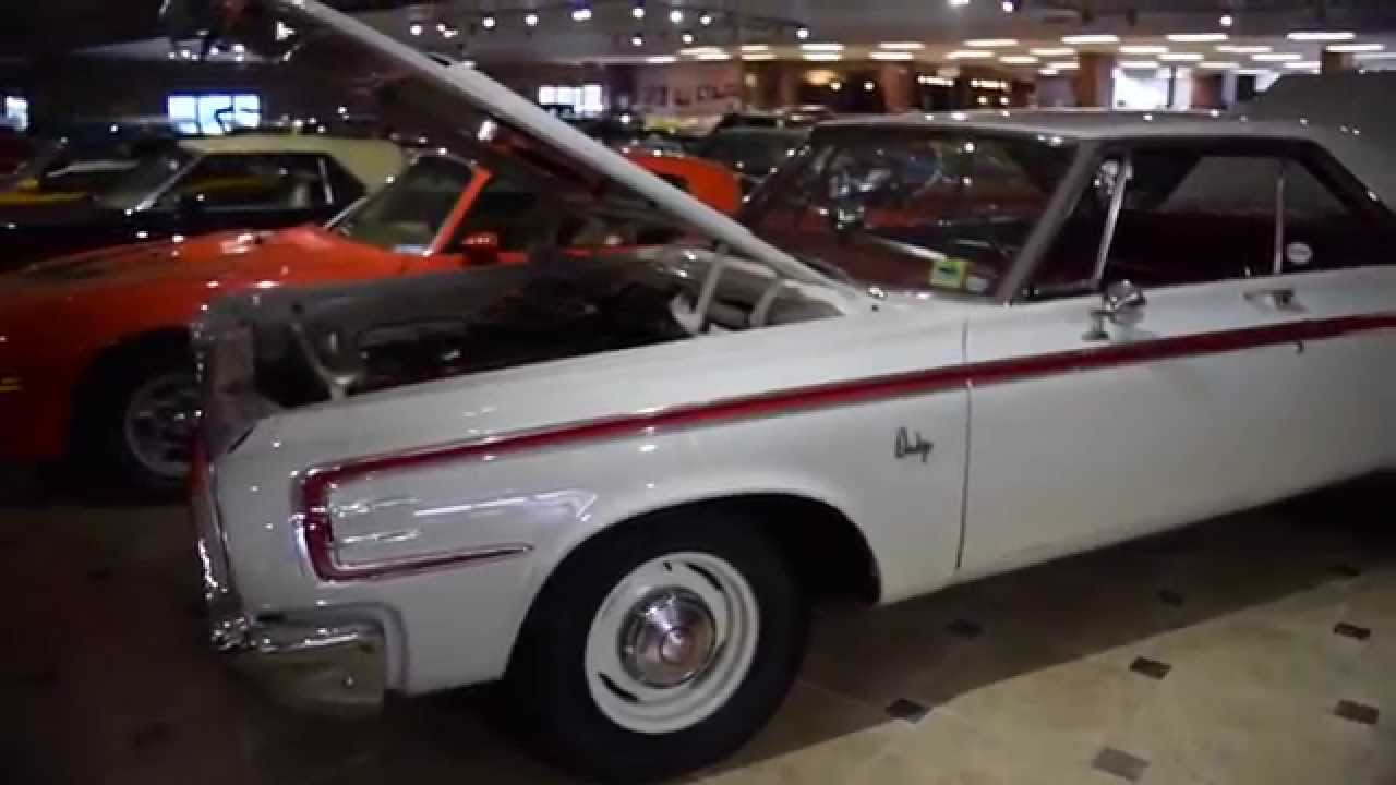 Walk Around Start 1964 Dodge 440 Max Wedge R107 Youtube 330