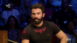 Survivor 2018 Turabi Çeyrek final konuşması