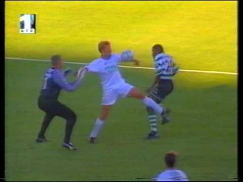 01J :: Sporting - 1 x Farense - 0 de 2000/2001