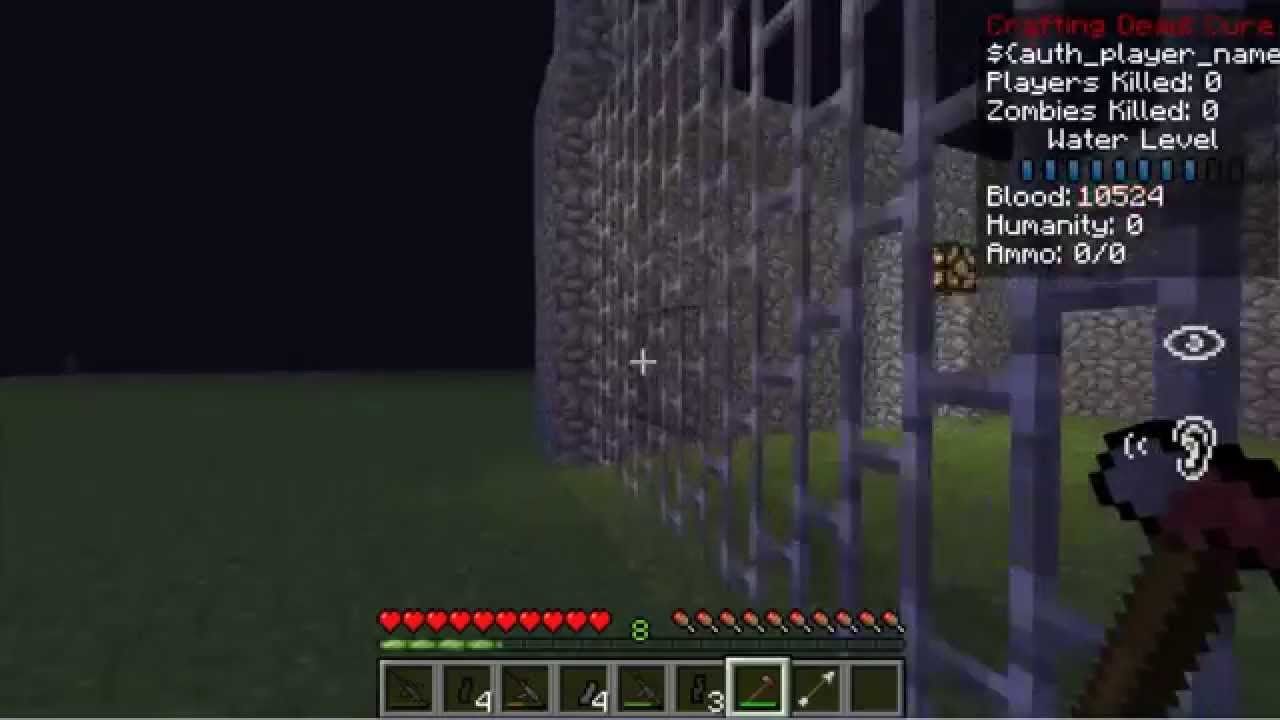 Minecraft technic launcher mod the walking craft crafting for Crafting dead mod download