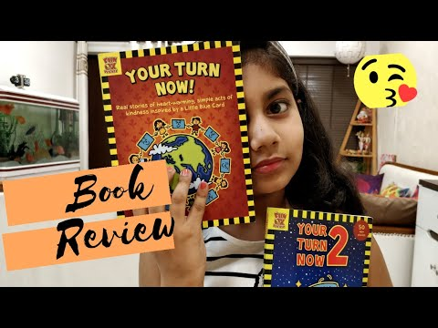 Your Turn Now Part-1 & 2 (Book review) inspiring book