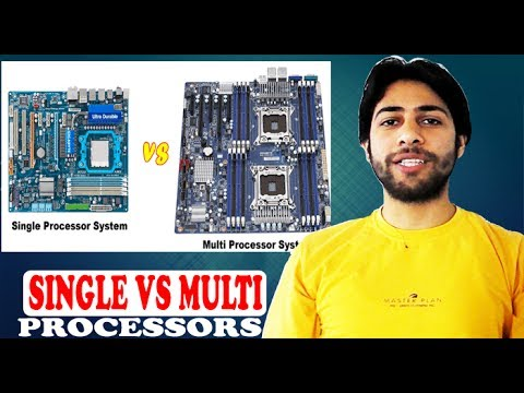 Single Processing Vs Multi Processing | Single Processor Vs Multi Processors