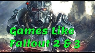 Games Like Fallout | apocalyptic games ☠️