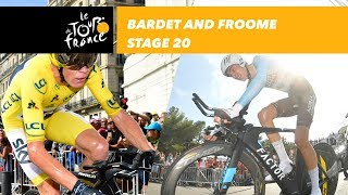Bardet and Froome - Stage 20 - Tour de France 2017