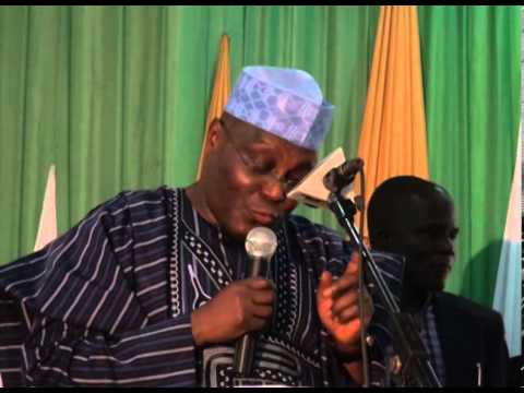 Atiku Abubakar's position on oil and other natural resources in Nigeria