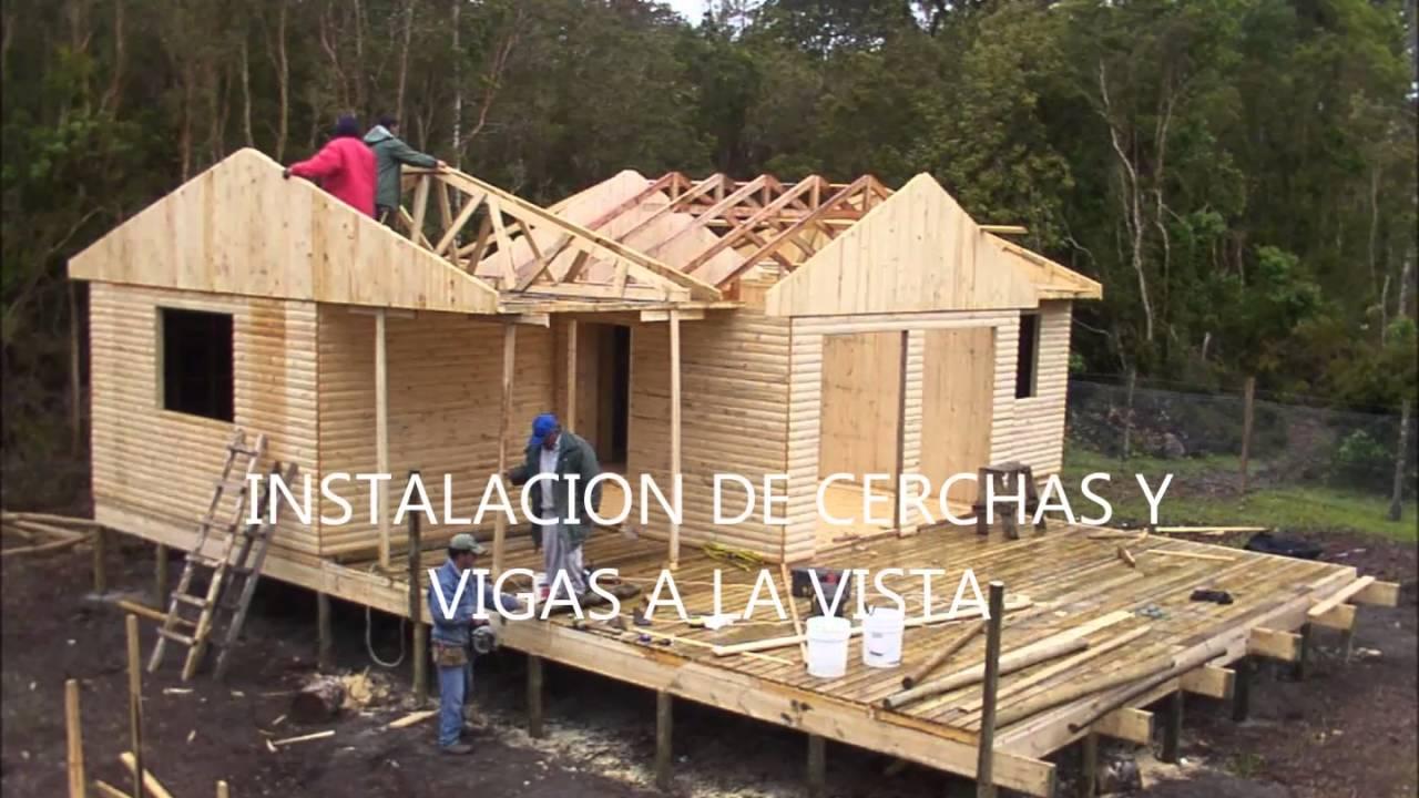 Como se arma una casa prefabricada youtube - Como construir una casa prefabricada ...