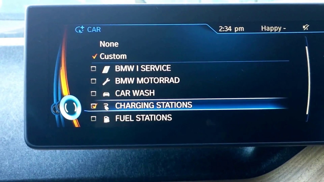 Worksheet. How to find a charging station in a BMW i3  YouTube