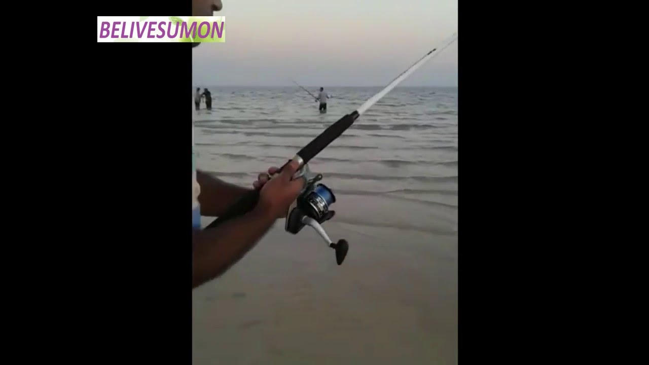 Fishing spots golden beach sealine doha qatar by md nazim for Fishing spots in maryland