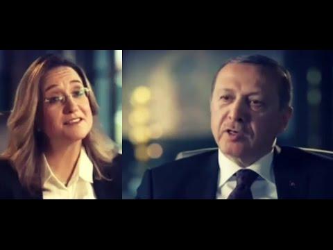 Cumhurbaşkanı Erdoğan israil kanalında ( uzun versiyon )